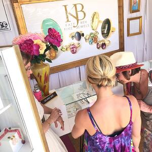New Orleans Jazz Fest Crafts Katy Beh Jewelry 2019 In Booth