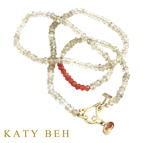 Portia_Lemon_Quartz_Carnelian_Necklace_Maura_Spessarite_Garnet_Pendant_22k_Gold_Katy_Beh_Jewelry_New