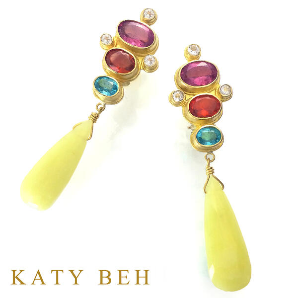 Scarlett-Earrings-Serpentine-22k-Rhodalite-Katy-Beh-1