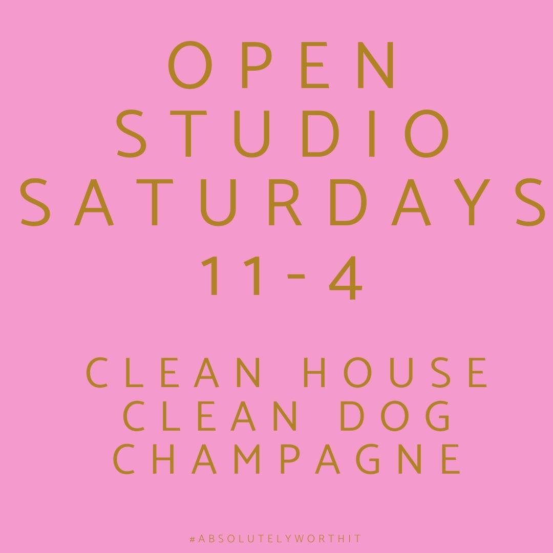 Open Studio Saturdays 11-4